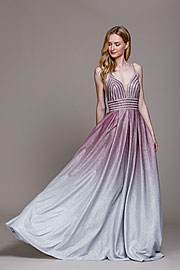 Wholesale Prom Dress item a487. Empire Prom Gown with Spaghetti Straps.