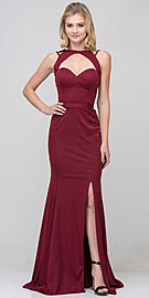 Wholesale Prom Dress item s17278. Cutout Sweetheart Neckline Long Fitted Formal Prom Dress.